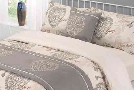 Groupon Goods Global GmbH - Six Piece Complete Bedding Set in Choice of Design and Size - Save 63%