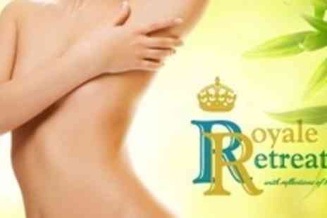 Royale Retreat - Six Sessions of IPL Hair Removal on One Medium or Two Small Areas - Save 87%