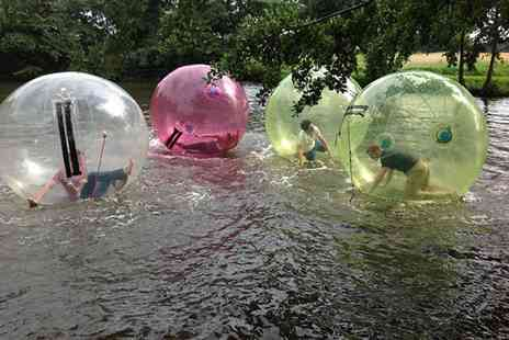 Pump It Up Events - Summer water zorbing session for one - Save 0%