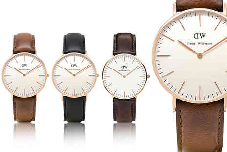 The Watch Supermarket - Daniel Wellington ladies watch choose from three fab designs - Save 59%
