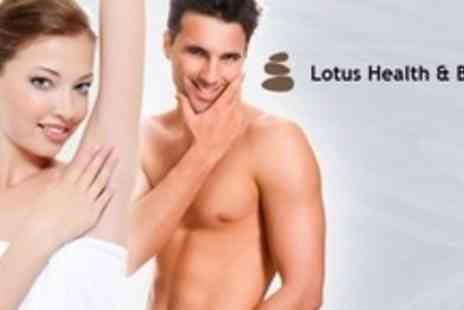 Lotus Health and Beauty Salon - Six Sessions of IPL Hair Removal on Choice of Areas Such as Lower Legs - Save 84%
