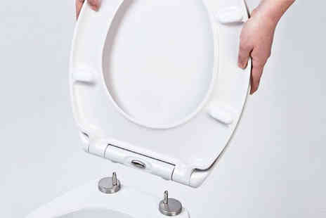 IT Ideas - Thermoset click and clean toilet seat - Save 58%