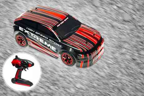 Ebuyer - 1:18 scale high speed remote controlled rally car - Save 0%