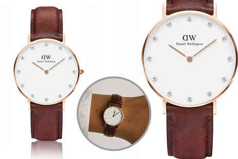 The Watch Supermarket - Daniel Wellington 0900DW womens classy St Andrews watch - Save 47%