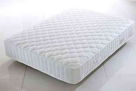 Sleep Express - Single, small double, double, king size or super king size mattress - Save 70%