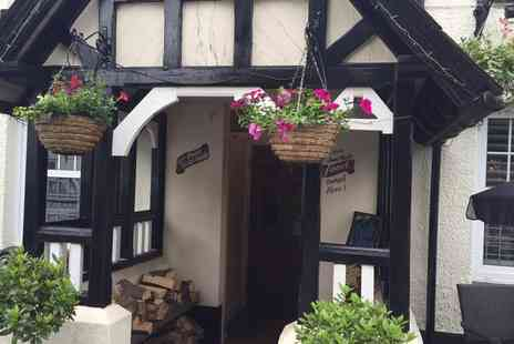 The Kings Arms - Two Course Meal and a Glass of Wine for Two or Four - Save 47%