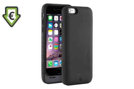 Groupon Goods Global GmbH - CasePower iPhone 6 Or 6S MFI Approved Battery Case - Save 85%