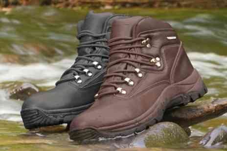 Groupon Goods Global GmbH - Unisex Waterproof Walking Boots or Shoes With Free Delivery - Save 40%