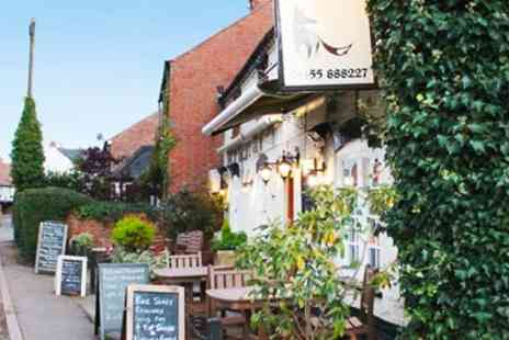 Poachers Brasserie - Two Courses & Bubbly for 2 - Save 46%