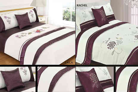 Linens R Us - Five piece bed in a bag double duvet set - Save 73%