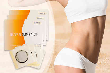 Forever Cosmetics - 30 day supply of magnetic slimming tummy patches - Save 80%