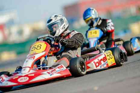 The Midland Karting - Kids Karting Birthday Party For up To Nine Children Plus Optional Snack Boxes - Save 59%