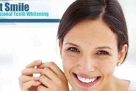 Just Smile - LED Teeth Whitening Treatment With Take Home Whitening Pen - Save 79%