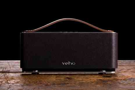 Groupon Goods Global GmbH - Veho M6 Retro Style Bluetooth Speaker - Save 75%