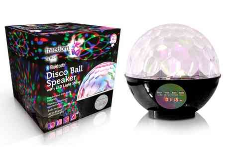 Groupon Goods Global GmbH - iTek Bluetooth Disco Ball Speaker - Save 0%