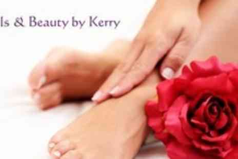 Nails and Beauty by Kerry - Manicure and Pedicure With French Polish Finish - Save 0%