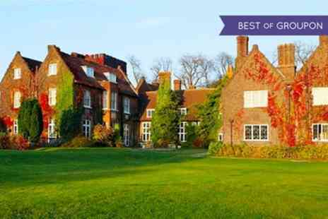 Fairview Letchworth Hall Hotel - One Night Stay for Two with Breakfast and Leisure Club Access - Save 0%