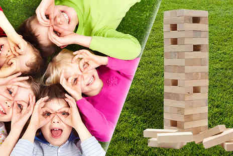 Estore London - Giant Garden Jenga Game - Save 0%