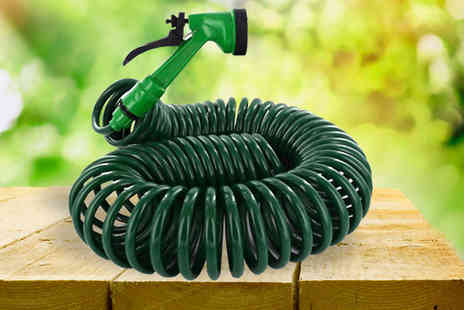 Shop Monk - Buy 1 or 2 50ft Coil Hose Pipe - Save 0%