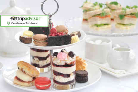 The Hadley Park House Hotel - Sparkling al fresco afternoon tea for two - Save 42%