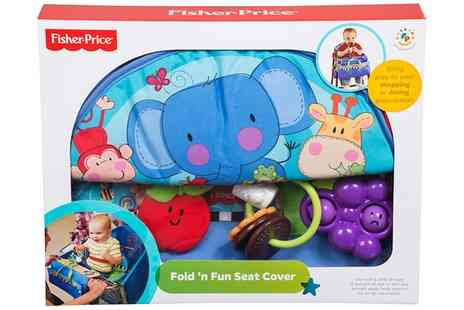 Groupon Goods Global GmbH - Fisher Price Newborn Shopping Fold N Fun Seat Cover - Save 0%
