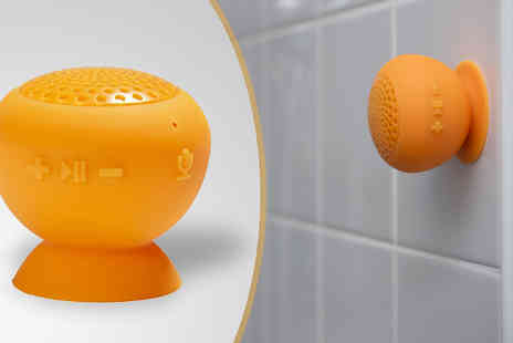 Tech Tronics - Bluetooth Shower Speaker - Save 76%