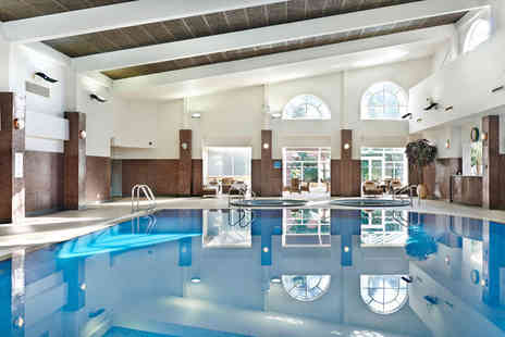 The Belfry - Overnight Warwickshire break for two with Prosecco, full English breakfast and leisure access - Save 36%