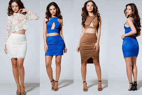 Celebrity Doll - Choice of three cropped co ord sets - Save 75%