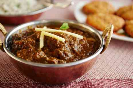 Adil Balti - Two Course Indian Meal for Two or Four - Save 44%
