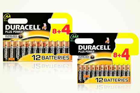 Groupon Goods Global GmbH - Duracell Plus Power Batteries - Save 0%