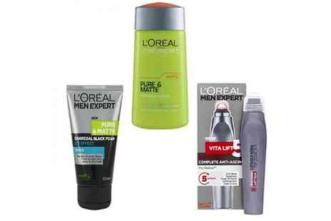 Groupon Goods Global GmbH - LOreal Three Piece Men Expert Set - Save 0%