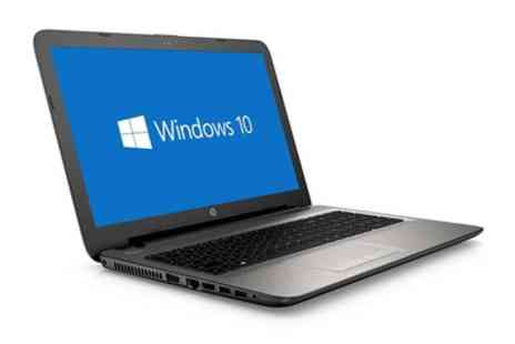 Groupon Goods Global GmbH - HP 15 ac101na 15.6 Inch Intel Pentium Dual Core 8GB RAM 1TB HDD Laptop With Free Delivery - Save 0%
