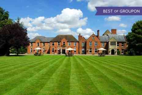 Hatherley Manor Hotel - One or Two Nights Stay For Two With Breakfast, Main Course Dinner and Prosecco - Save 0%