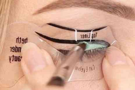 Groupon Goods Global GmbH - Eyeliner Stencil Tool - Save 88%
