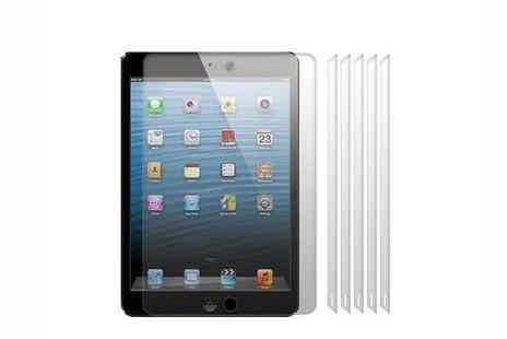 Targarian - Pack of 6 iPad Mini Screen Protectors - Save 41%