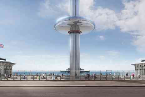 British Airways i360 -  Flight and Visit to Brighton Pavilion with Cream Tea for Two - Save 0%