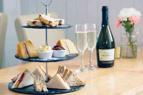 Bay Horse Wine Bar & Bistro - Traditional Afternoon Tea with Optional Glass of Prosecco for Two, Four or Six - Save 50%