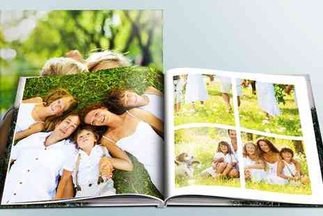 Printerpix - One or Two A4 Landscape 100 Page Hardcover Photobooks - Save 0%