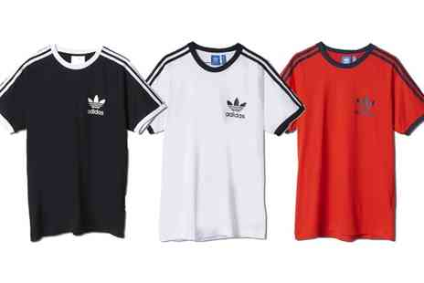 Groupon Goods Global GmbH - Mens Adidas Sports Ess T Shirts in Choice of Colour and Size - Save 0%