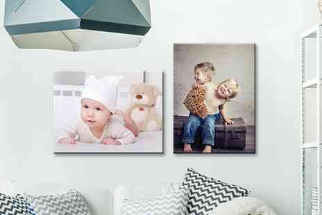 UK Photo gifts - Personalised Canvas Print In Choice of Size - Save 0%