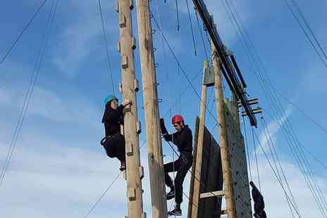 Colwick Park Adventure Centre - 90 minute high ropes experience - Save 55%