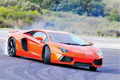 Activity Superstore - 2½ hour Awesome Foursome supercar driving experience - Save 25%