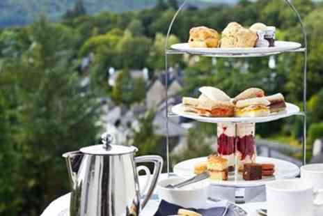 Hillthwaite House Hotel - Afternoon Tea & Bubbly for 2 with Lake Windermere Views - Save 37%