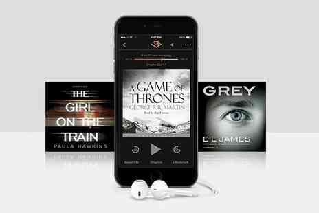 Audible - One Months Free or Three Months Half Price Subscription to Audible - Save 0%