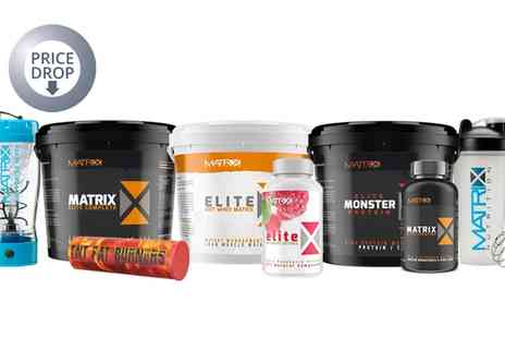 Groupon Goods Global GmbH - Matrix Elite Shredder, Lean and Bulking Protein and Weight Management Bundles - Save 0%