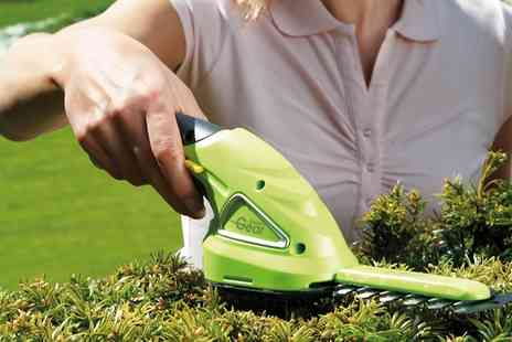 Groupon Goods Global GmbH - Cordless Hedge Trimming Shears - Save 0%