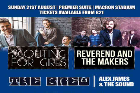 Bolton Whites Hotel - VIP ticket to see Scouting for Girls on 21st August - Save 38%