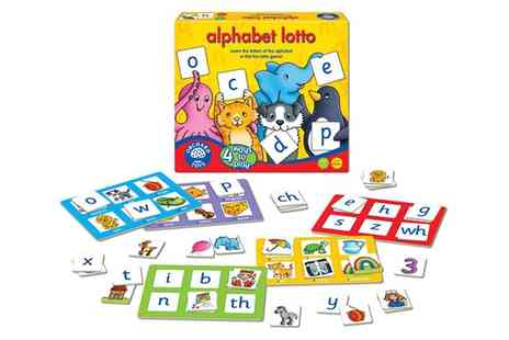 Groupon Goods Global GmbH - Orchard Toys Alphabet Lotto - Save 0%