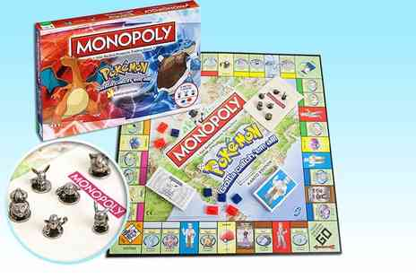 Linen Ideas - Pokemon Monopoly board game - Save 27%