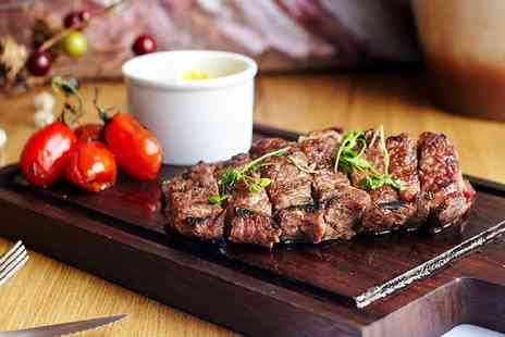 The Artisan - Two course lobster or steak meal with a bubbly cocktail for two - Save 57%